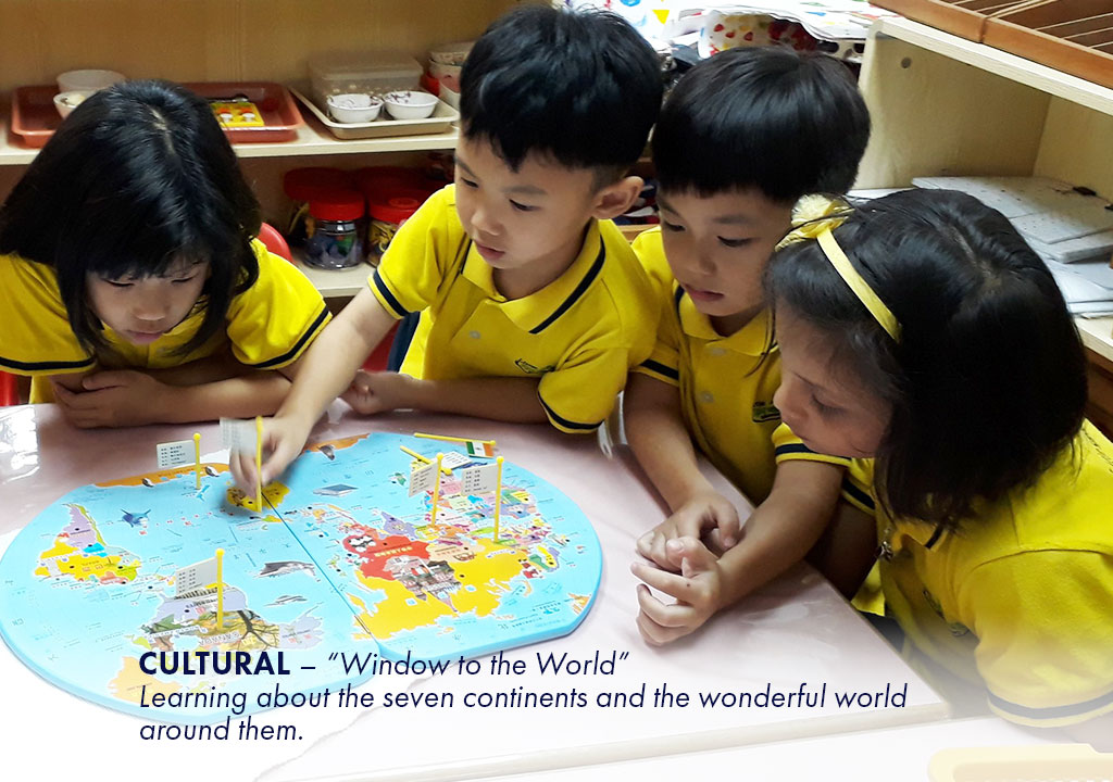"""Culture – """"Window to the World"""" Learning about the seven continents and the wonderful world around them."""