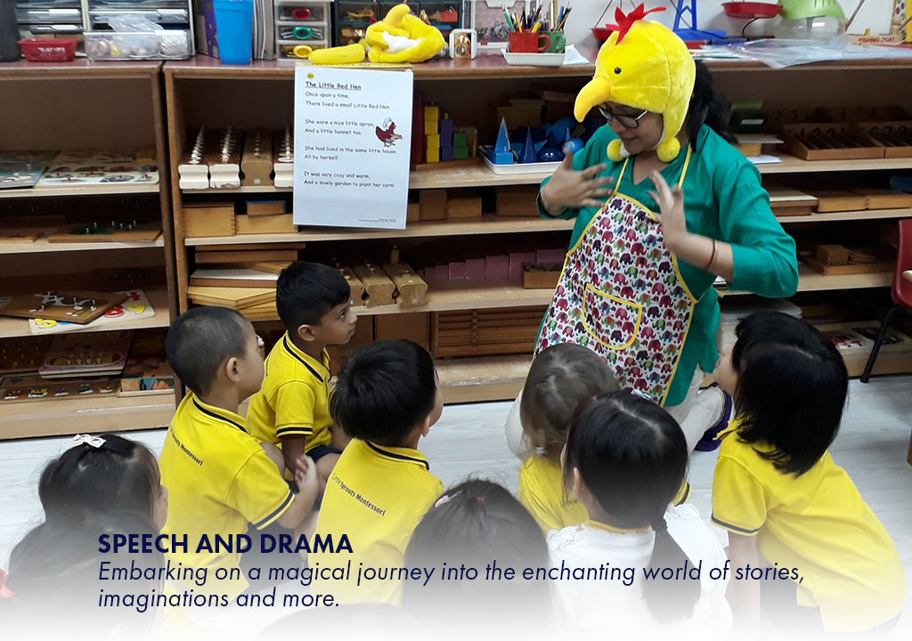 Speech and Drama - Embarking on a magical journey into the enchanting world of stories, imaginations and more.