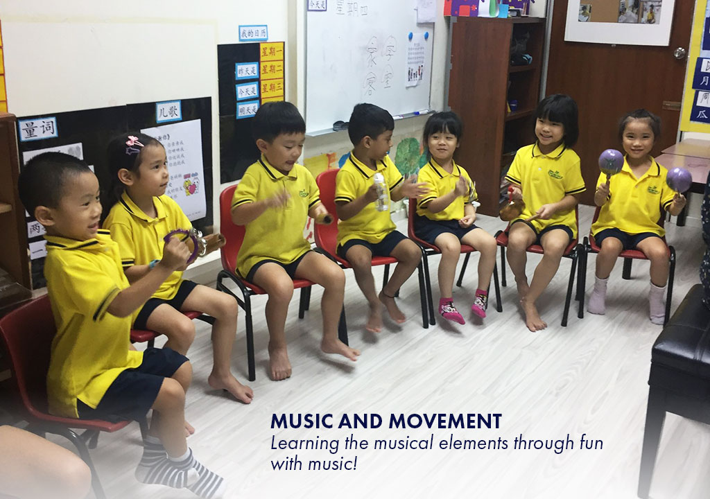Music and Movement - Learning the musical elements through fun with music!