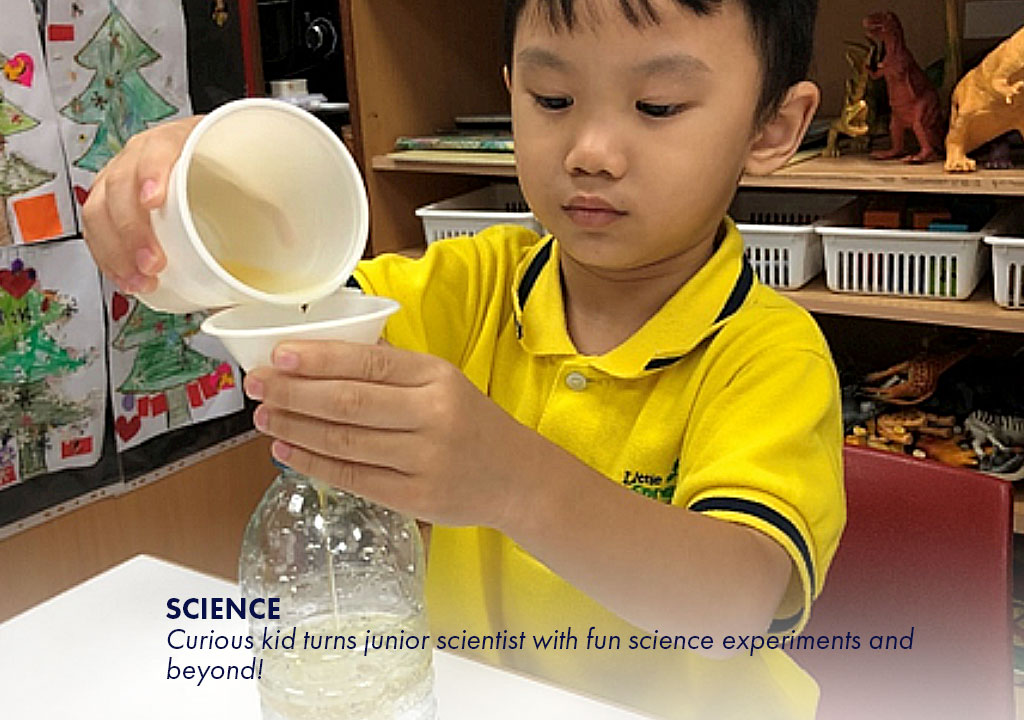 Science - Curious kid turns junior scientist with fun science experiments and beyond!